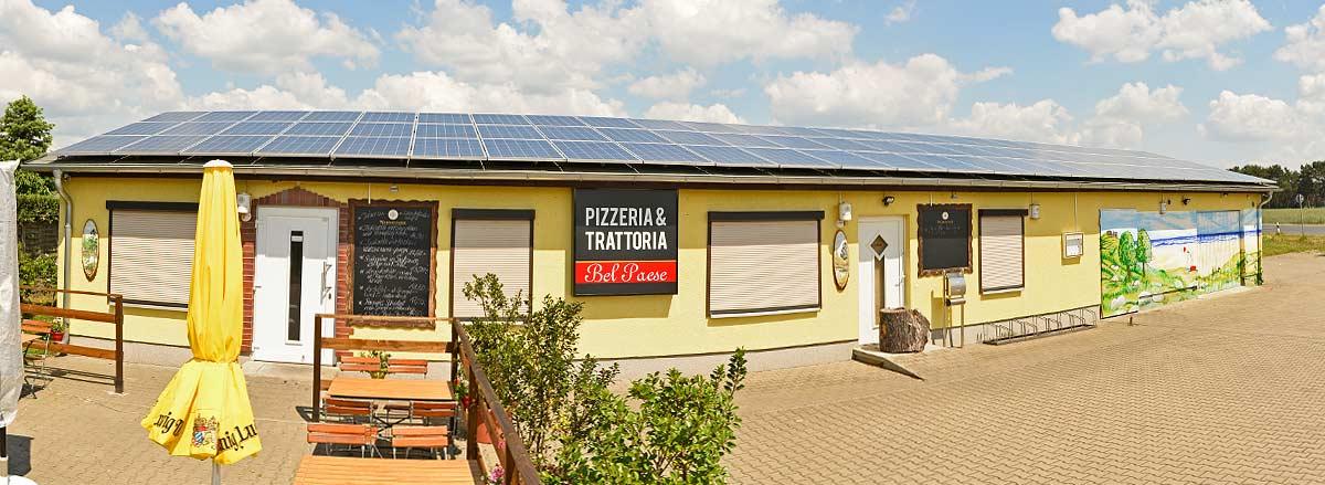 Massivhaus in Glien mit Solar-Photovoltaik Anlage